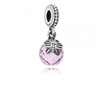 Pandora Morning Butterfly Pink Clear CZ