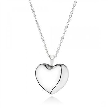 Pandora Love Locket Pendant Necklace Clear CZ