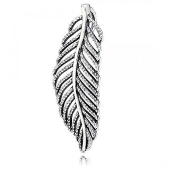 Pandora Light As A Feather Pendant Clear CZ