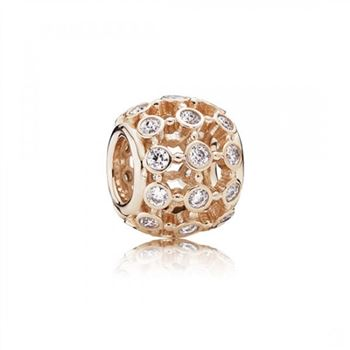 Pandora In The Spotlight Rose Clear CZ