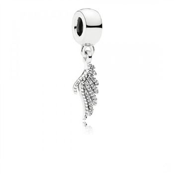 Pandora Majestic Feather, Clear CZ